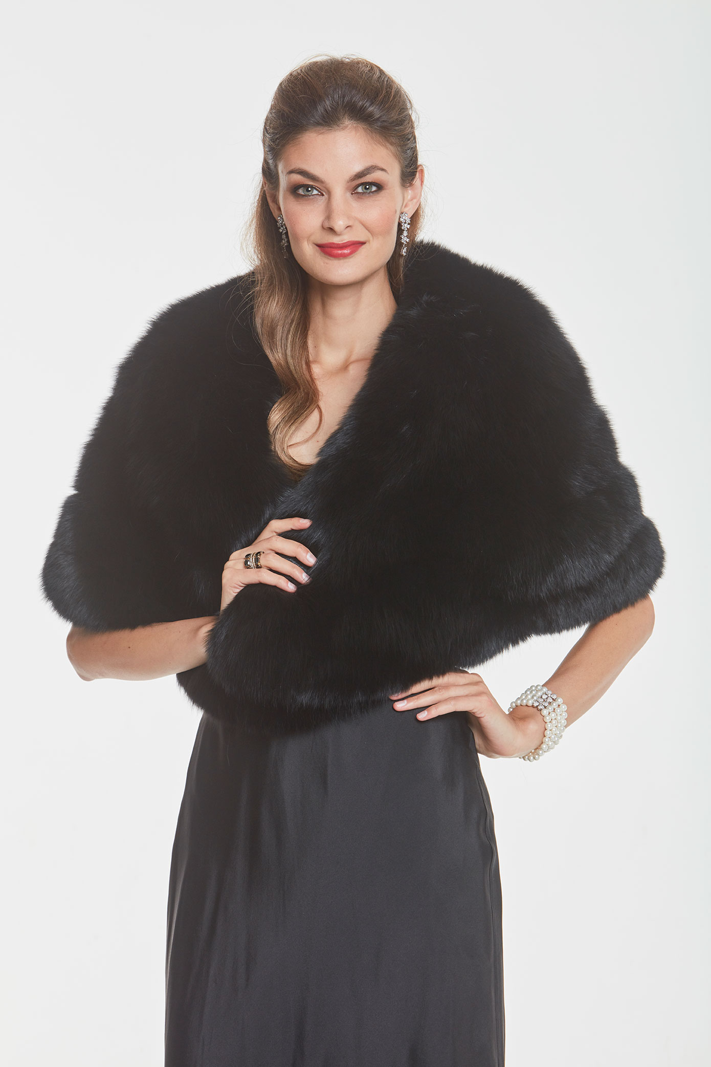 black-fox-cape-stole