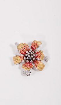 CZ-Diamond-Iris-Brooch-CZ-Iris-Petals-Pin