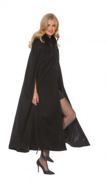Cashmere-Coat-Cashmere-Opera-Cape-Cloak-Black-Fox-Trim - 52