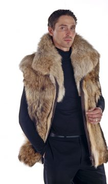 Coyote-Mens-Zippered-Vest-Natural-Coyote-Vest