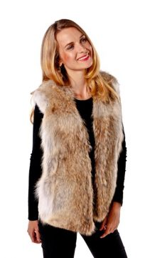 Coyote-Vest-V-Neck-Coyote-Vest-with-Suede-Insert