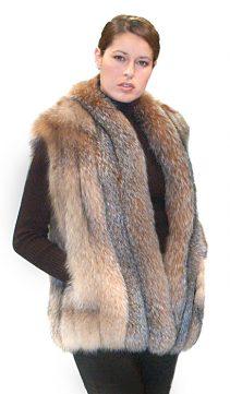 fox vest-fox fur vest-real fur vest fox-real fur vest fox
