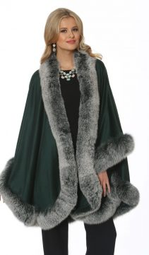 cashmere cape-emerald-frost fox