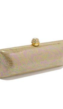 Evening-Bag-Gold-Leather-Swarovski-Crystal-Clasp