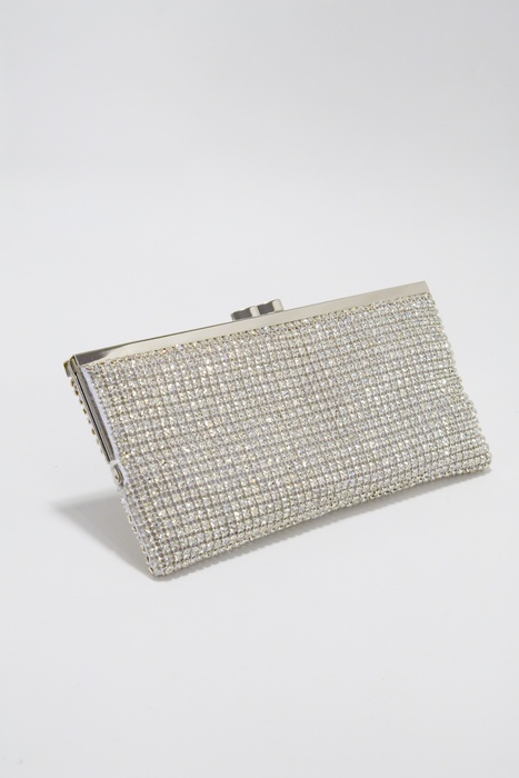 Evening Bag Swarovski Crystal Soft Mesh Clutch