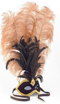 Feathered-Party-Mask-Plumed-Venetian-Mask