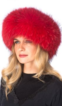 Ferrari-Red-Fur-Headband