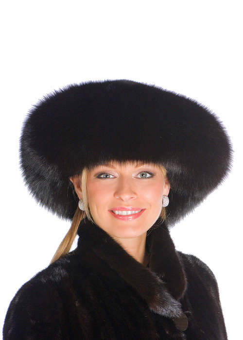 fox hat-fox fur hat-fox and mink hat