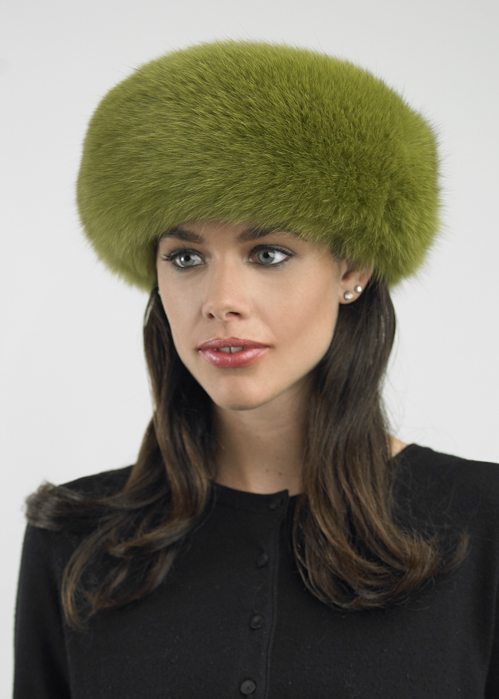 Fur-Headband-Moss-Green-Fox  3b9b022ea1f
