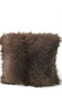 Fur-Pillow-Knitted-Soft-Brown-Pillow