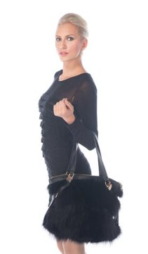 Fur-Tote-Black-Zippered-Fur-Tote