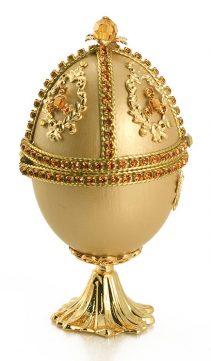 Jeweled-Collectible-Egg-Topaz-Swarovski-Crystal