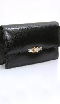 Leather-Evening-Bag-Swarovski-Crystal-Clasp