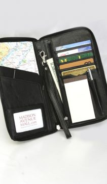real travel organizer-genuine leather passport holder