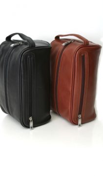 real leather traveling bag-watertight-lining