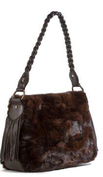Mahogany-Mink-Handbag-Braided-Leather-Handle