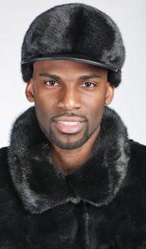 Mens-Mink-Baseball-Cap-Mink-with-Leather