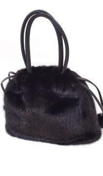Mink-Fur-Handbag