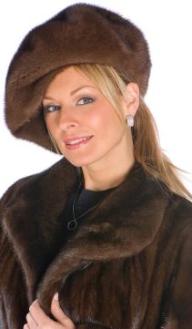 Mink-Fur-Hat-Soft-Brown-Mink-Beret