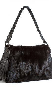Mink-Handbag-Braided-Leather-Handle-Fringes