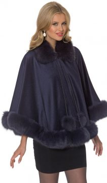 cashmere cape-navy-dyed-fox-duchess