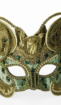 Party-Mask-Celadon-Green-Velvet-Creation