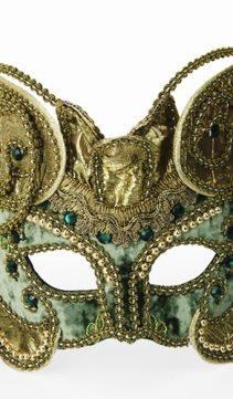 Party-Mask-Celadon-Green-Velvet-Creation