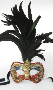Party-Mask-Feathered-Corded-Mask
