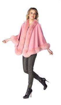 Cashmere-Cape-Pink-Fox-Trim-Princess