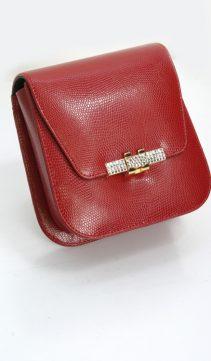 Red-Evening-Bag-Leather-Handbag