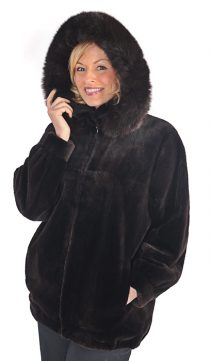 Sheared-Beaver-Jacket-Dark-Brown-Fox-Trimmed-Hood