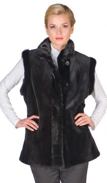 Sheared-Mink-Vest-Reversible-to-Fabric-Black
