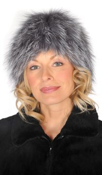 Silver-Fox-Stretch-Hat-Stretch-Fur-Hat