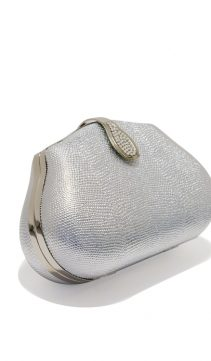 Silver-Leather-Evening-Bag-Austrian-Crystal-Clasp