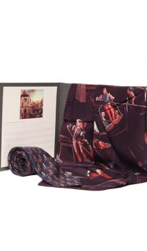 Venetian-Silk-Scarf-Tie-Set-The-Gondoliers-3