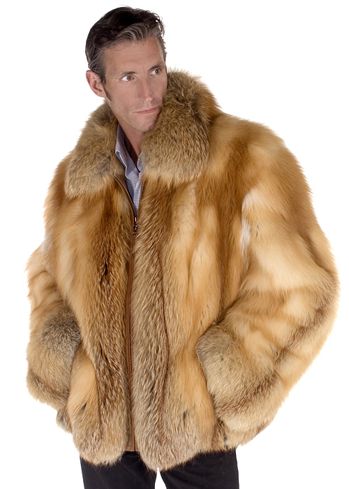 fox jacket-natural fox fur jackets-red fox fur-natural fox fur jacket