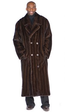 Mens-Mahogany-Mink-Coat-Double-Breasted-Coat