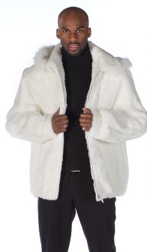 Mens-White-Fur-Zippered-Jacket-DetachableHood