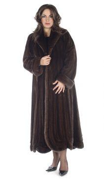 plus size natural mink coat women's-swirl-panel