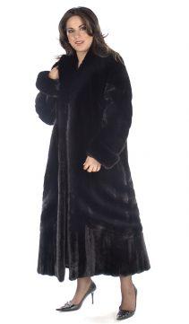 designer mink coat real-ranch mink coat-plus size