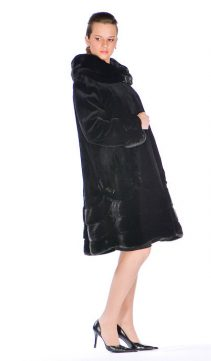 natural sheared mink jacket-scalloped-designs