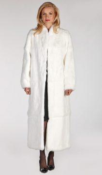 rabbit fur coat-rabbit fur coat white-rabbit fur coat womens-white collar-mandarin