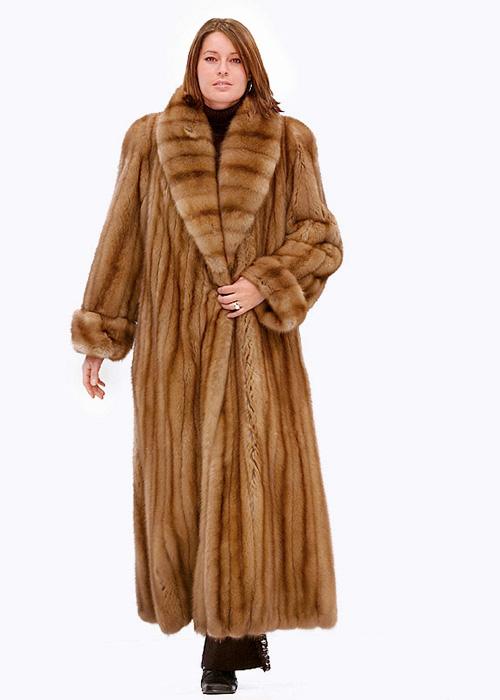 Sable Fur Coat >> Sable Fur Coat Full Length Shawl Collar Madison Avenue Mall Furs