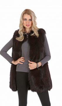Burgundy-Fox-Fur-Vest-213962 -1651BRG