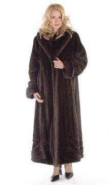 mahogany mink fur coat-wave-design