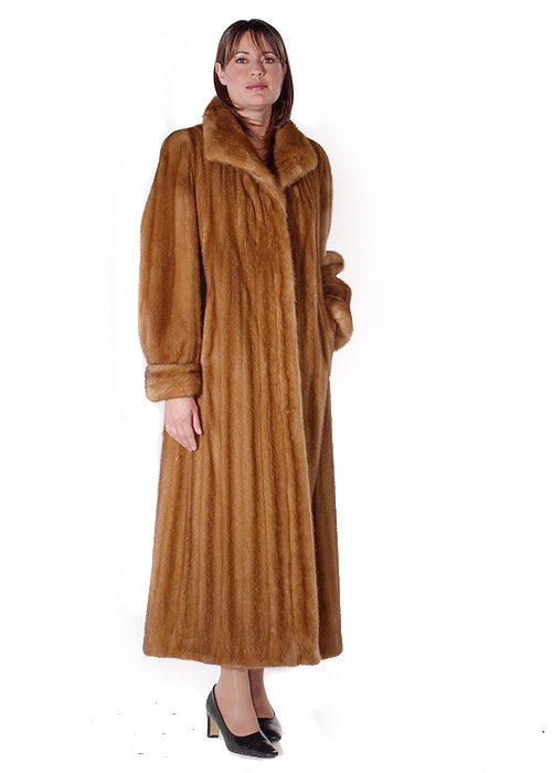 Mink Coat – Female Golden Classic Mink | Madison Avenue Mall Furs ...