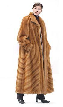 natural mink fur coat-full length fur coat womens