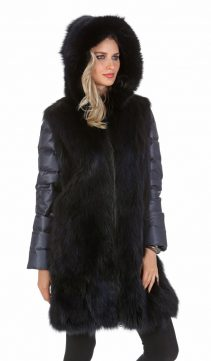 fox fur coats for women-fox fur coat with hood-coat with real fur hood