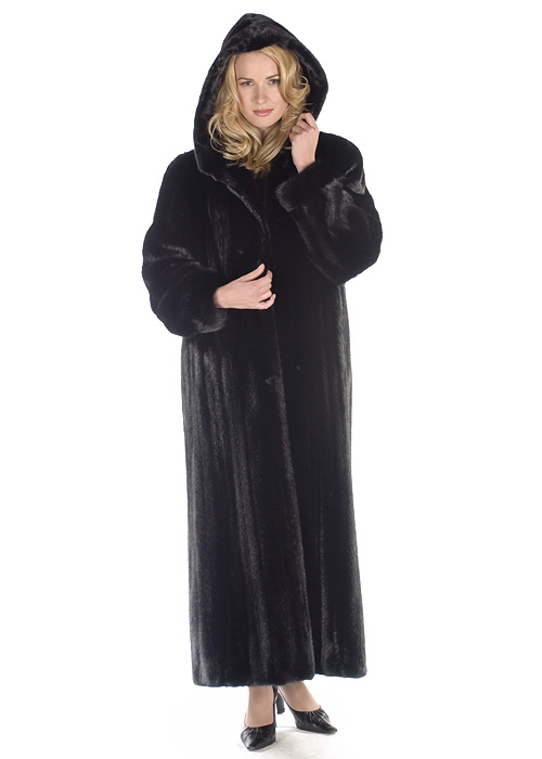Mink Coat – Hooded Ranch Mink | Madison Avenue Mall Furs | Madison ...