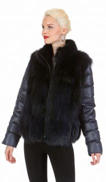 womens fox jacket-fox vest-real fur jackets for women-convertible-womens real fur vest
